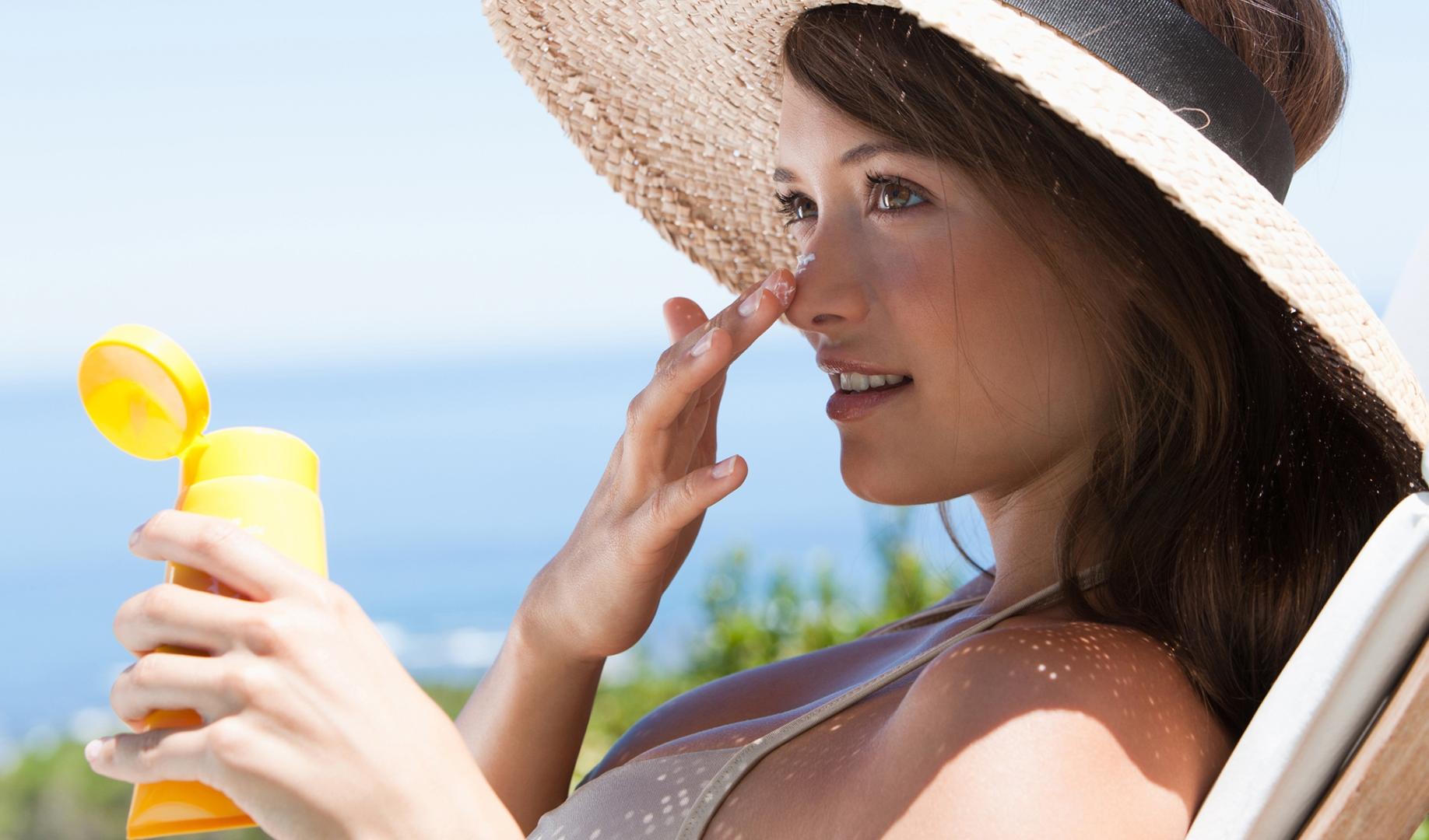 melindungi kulit dari sinar UV