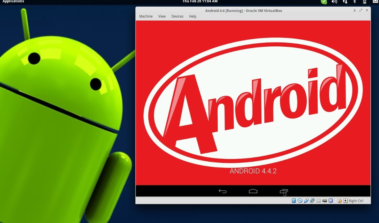 install android kitkat di pc