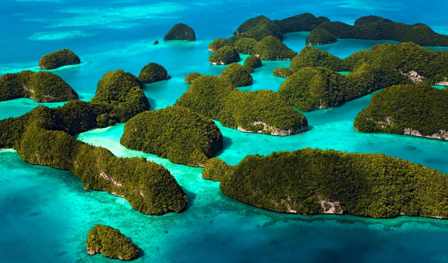 pulau surga indonesia