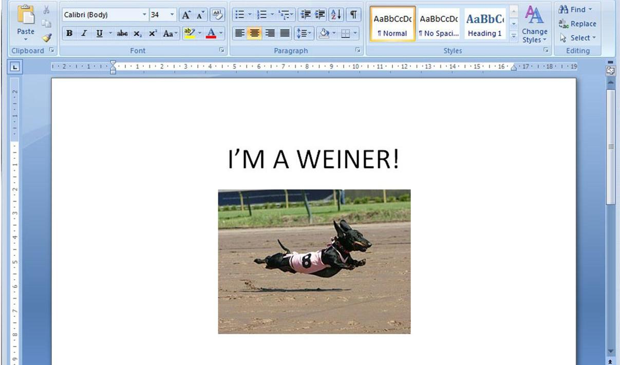 editing foto microsoft word