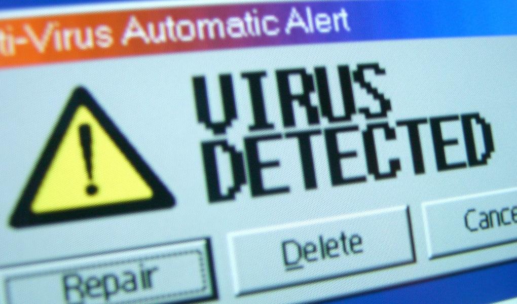 mendeteksi virus