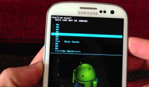wiping android