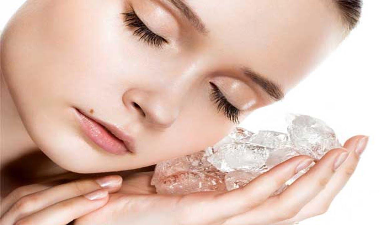 es batu untuk kecantikan