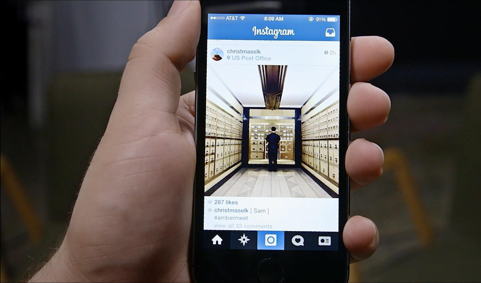 instagram di iphone