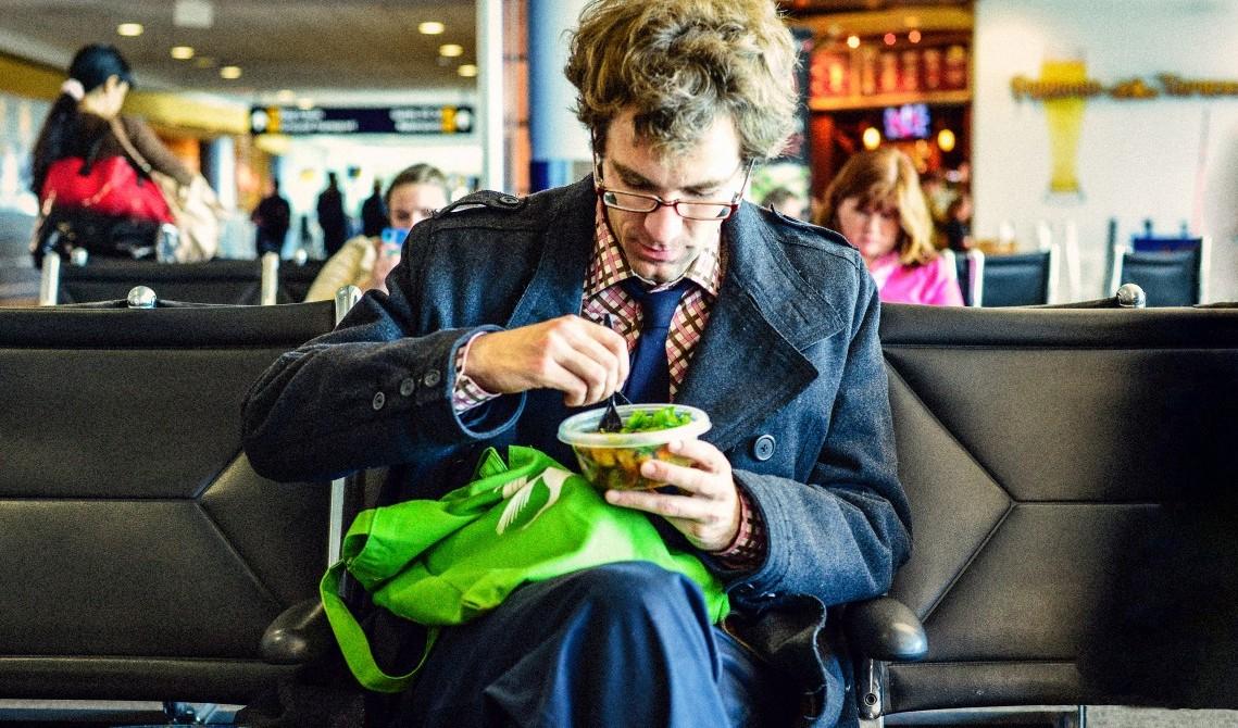 makan sehat di bandara