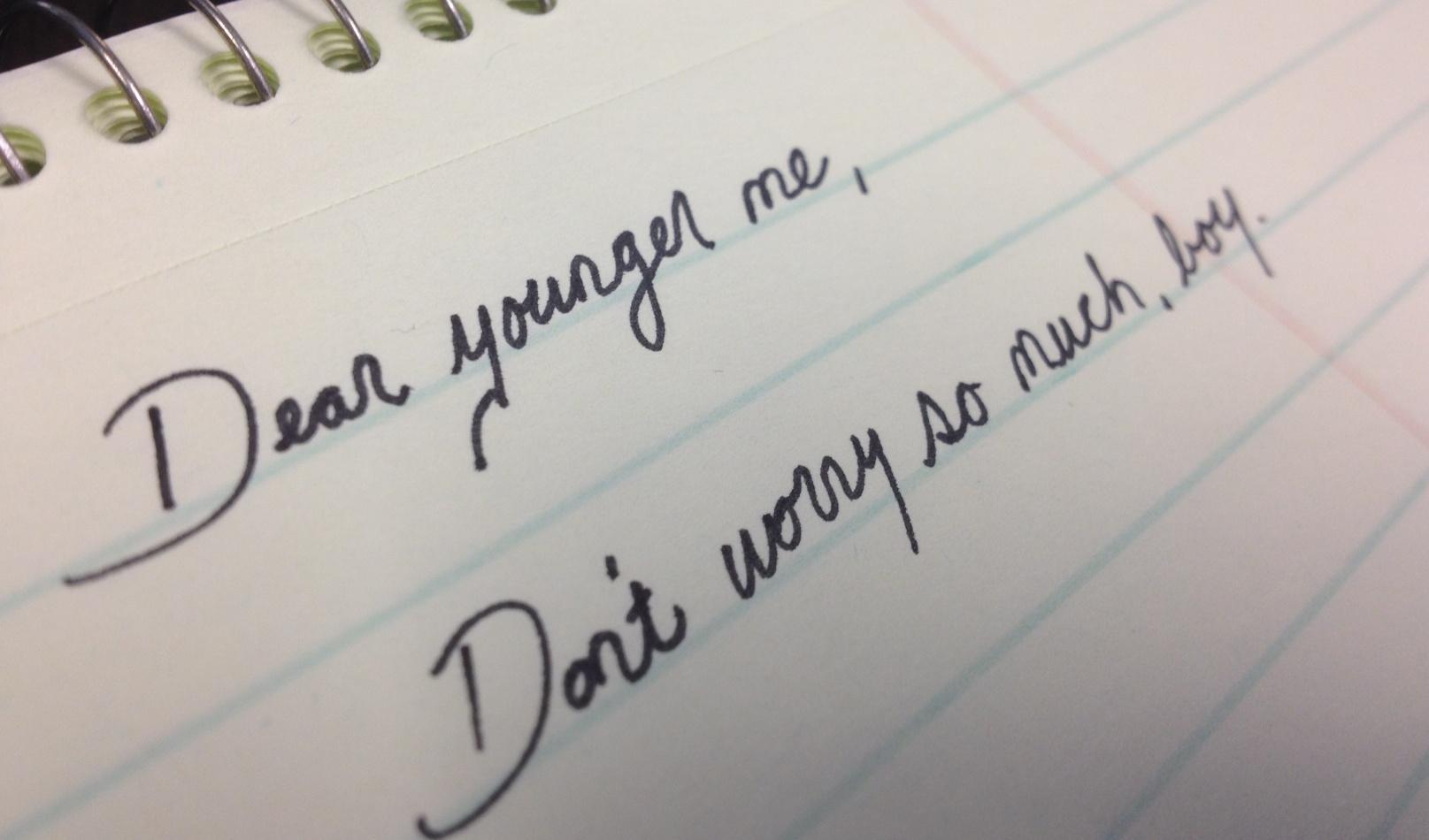 menulis surat untuk diri sendiri