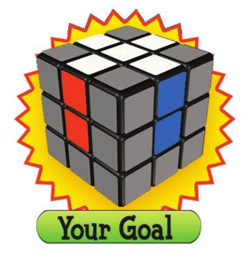 Tahap 1 Menyelesaikan Rubik