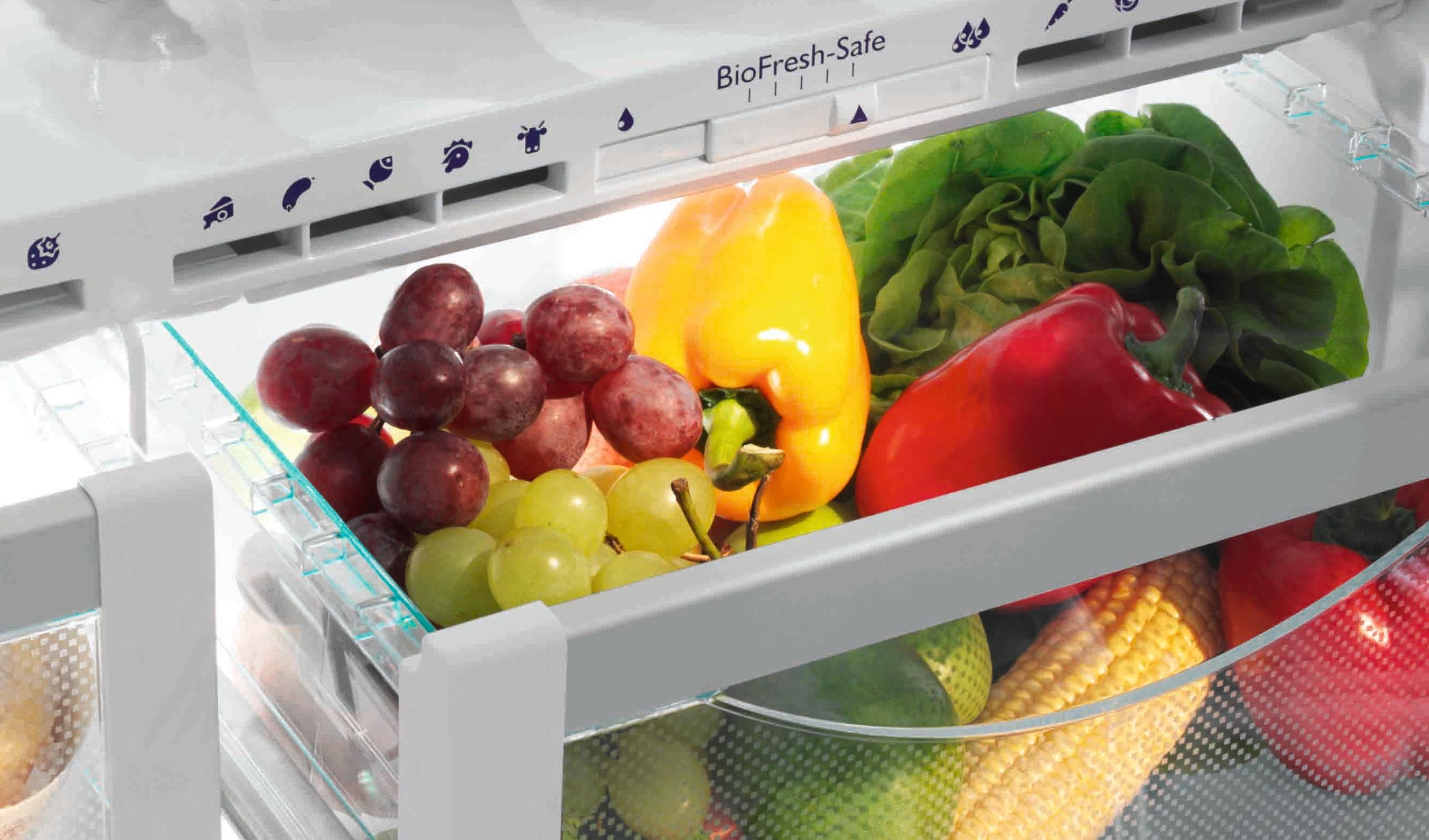 menyimpan buah dan sayur