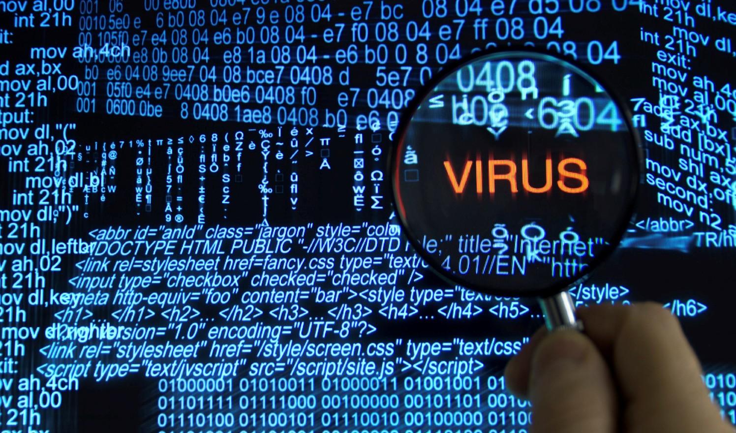 komputer terserang virus