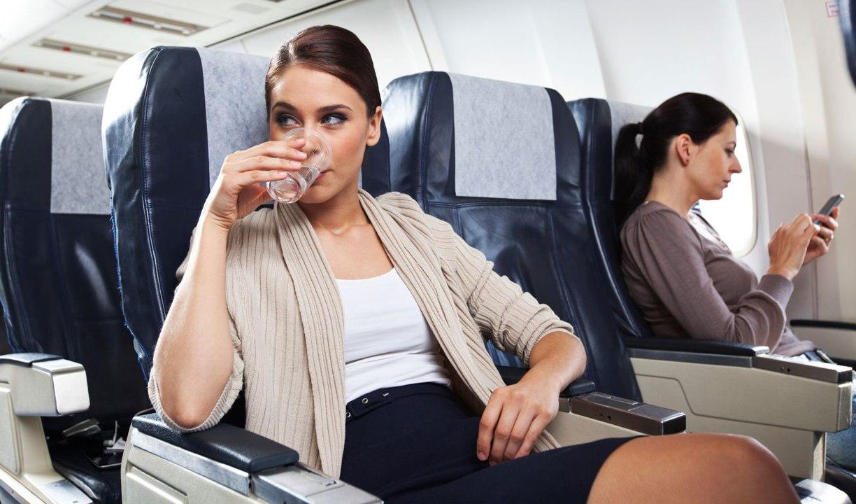 teman duduk di pesawat