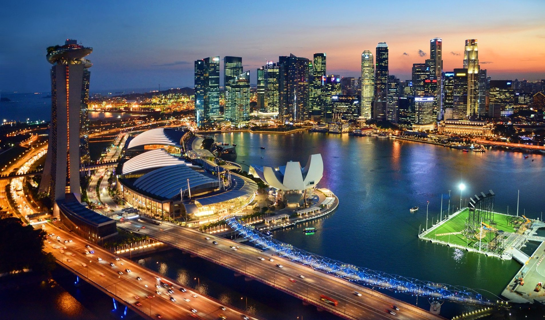 tips traveling murah singapura