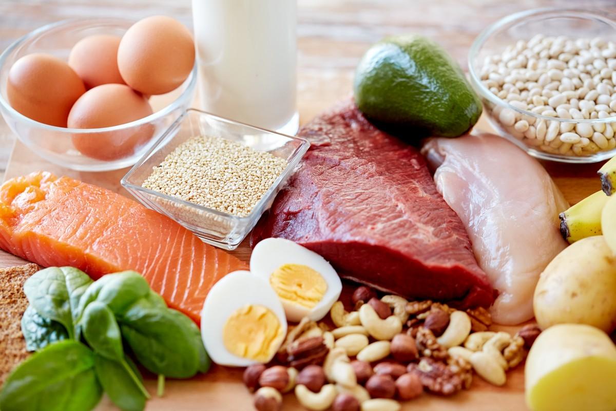 Image result for makanan tinggi protein